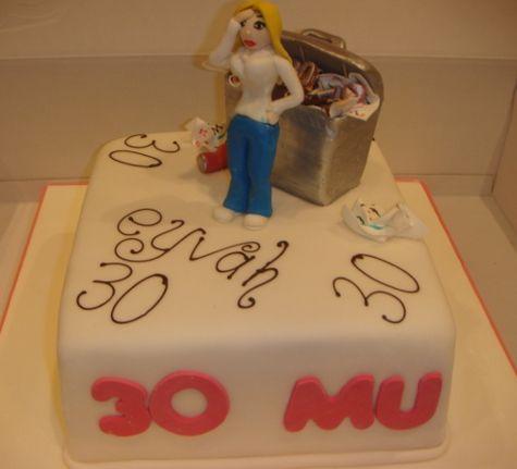 Eyvah ! Yaş 30 pastası