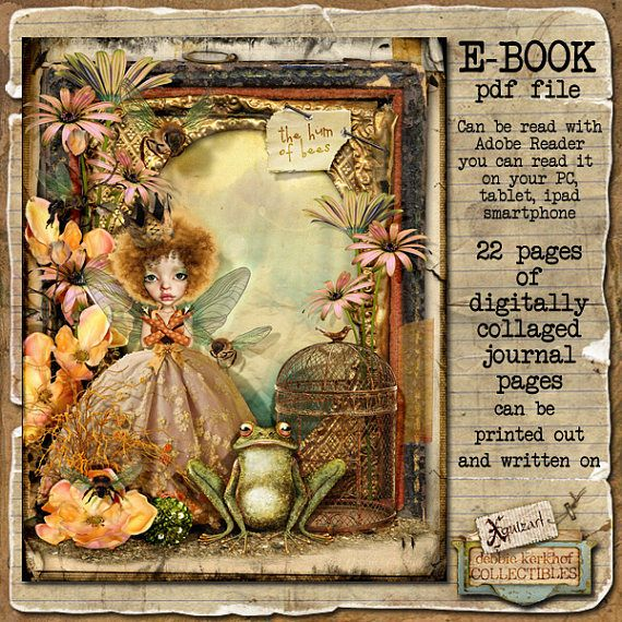 Journal/Diary - The Hum of Bees Art Journal E-book