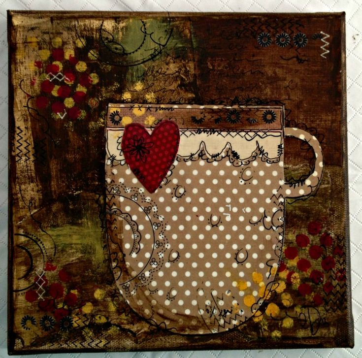 another gorgeous canvas from Kristine Davidson