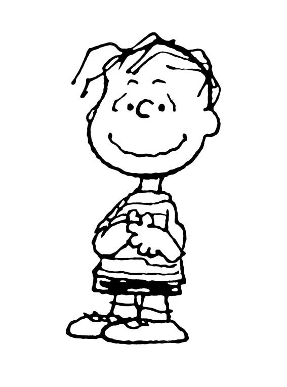 linus great pumpkin coloring pages - photo#24