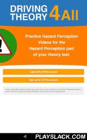 "DT4A Hazard Perception Vol 1  Android App - playslack.com , ~~~~~~~~~~~~~~~~~~~~~~~~~~~~~~~~~~~~~~~~~~~~~~~~~~~~~~~~~~~~~~~~~~~~~~~~THE MUST-HAVE APP TO PASS THE 2015 HAZARD PERCEPTION PART OF THE THEORY TEST 1ST TIME~~~~~~~~~~~~~~~~~~~~~~~~~~~~~~~~~~~~~~~~~~~~~~~~~~~~~~~~~~~~~~~~~~~~~~~~LOOKING FOR AN HAZARD PERCEPTION APP? Say ""YES"" to the apps that gives you everything you need to PASS the hazard perception part of the theory test.You'll get 10 practice hazard perception videos in Volume…"