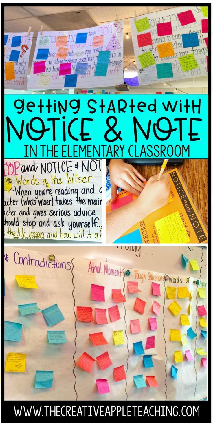 Learn How To Begin Implementing The Notice And Note Signposts And Reading Strategies Right Away In Yo Notice And Note Classroom Wall Displays Reading Classroom [ 1471 x 736 Pixel ]