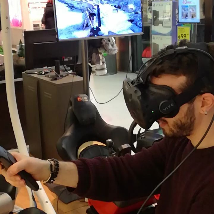 #vr #HTCvive #oculusrift #htc #vive #oculus #gamer #gamergirl #gamerguy #gaming #vrbox #carboard #google #VirtualReality #RealtàVirtuale #play #world #top #thebest #funpoint #web #site #website #internet #projectcars2 #Nolimits2 #happy #over #cool  #kill