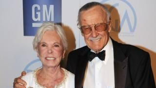 Joan Lee 'Marvel muse' and wife of Stan Lee dies at 95