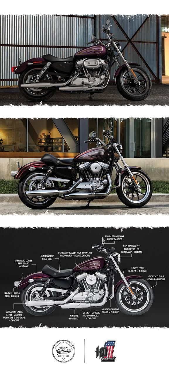 The ride that starts here may never end. | 2017 Harley-Davidson SuperLow