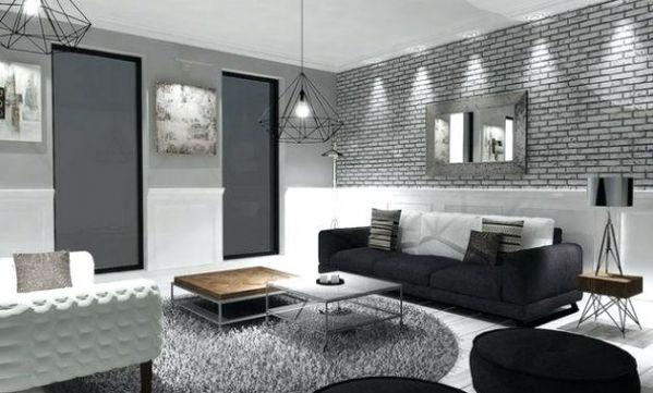Decoration Noir Et Blanc Flowerto Wordpress Sitede La Maison Inside 20 Meilleur Images De Salon Noir Blanc Gri Deco Salon Idee Deco Salon Salon Gris Et Blanc