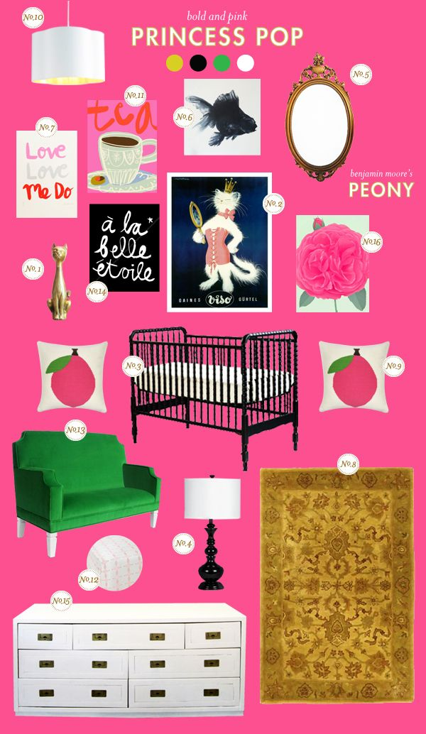 princess-pop baby nursery inspiration