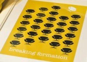 Breaking Formationby Shopgirl in Print