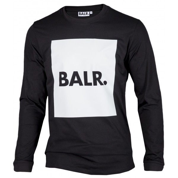Long Sleeved Shirt Brand Flag - BALR.