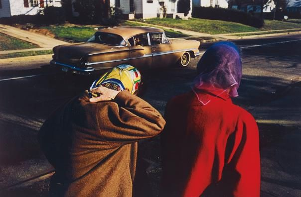 PHILLIPS : William Eggleston, Untitled (Two women wearing head scarves, Memphis) 1970