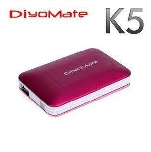 DiyoMate K5,World's smallest 1080P U disk,Hard disk player,FULL HD network player