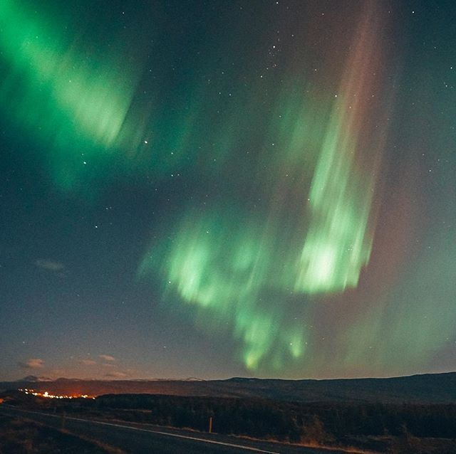 Keep your eye out for the aurora tonight! Especially in North Iceland, kp is high and visibility is good! 💚.If youre anything like me, the first time you see the northern lights youll be running around screaming your head off with tears running down your face. In short, its a very emotional experience. 🙆🏼 #icelandwithaview