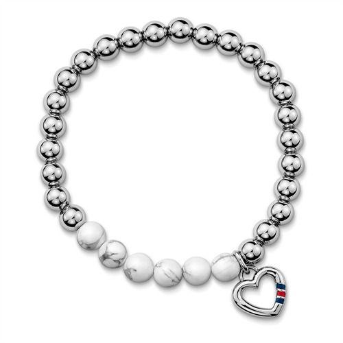 Tommy Hilfiger Perlenarmband Herz silber 2700784 https://www.thejewellershop.com/Tommy_Hilfiger_Perlenarmband_Herz_silber_2700784_i1149_67287_0.htm #armband #tommyhilfiger #tommygirl #jewelry #thejeweller #silber #herzanhänger #schmuck