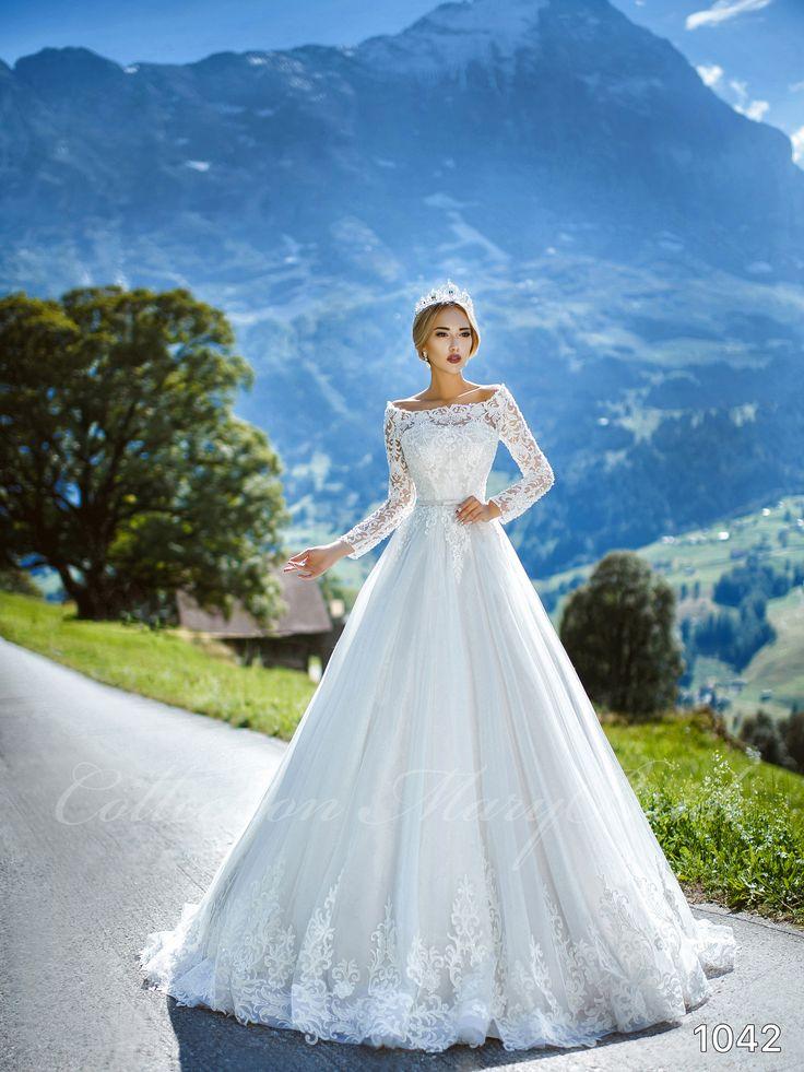 Mary Bride - 1042 (RENDELHETŐ) Kölcsönzési díj: 130.000,- Ft  https://www.europaszalon.hu/menyasszonyi-ruhak-budapest-ruhaszalon