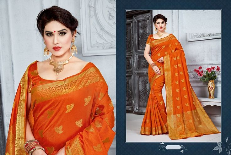 https://flic.kr/s/aHsm5DP6HL | KCRT_2008 | Designer art silk saree collections..!!