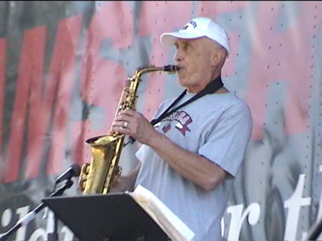 Canadian Jazz Sax Legend P.J. Perry!  Rare never-made-public Jazz Memorial video of one of Canada's Greatest Sax players!  On a sunny July 1, 2006, in Edmonton, Alberta, Canada.  The first of 7 scintillating jazz pieces.  Enjoy this P.J. Perry performance!  https://www.youtube.com/watch?v=WZOjTRdMGxE