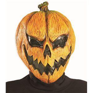 【コスプレ】 RUBIE'S(ルービーズ) ACCESSORY(アクセサリー) マスク(コスプレ) Pumpkin Mask(パンプキン マスク) - 拡大画像