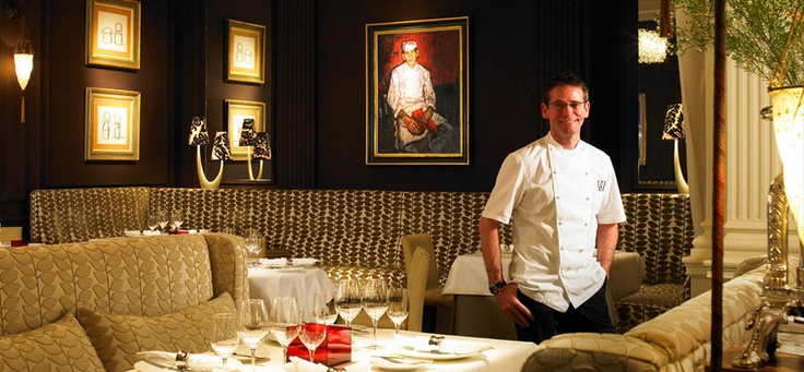 Just 2 Michelin stars! SWOON! Andrew Fairlie Restaurant Gleneagles
