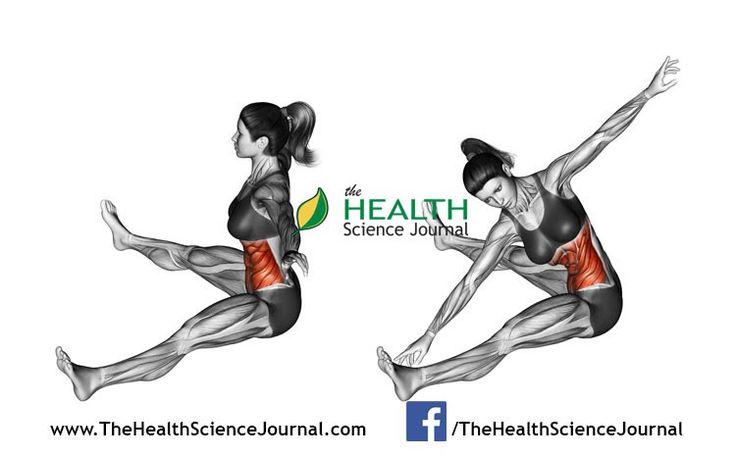 © Sasham | Dreamstime.com - Fitness exercising. Rotation spins to the slopes of sitting. Female
