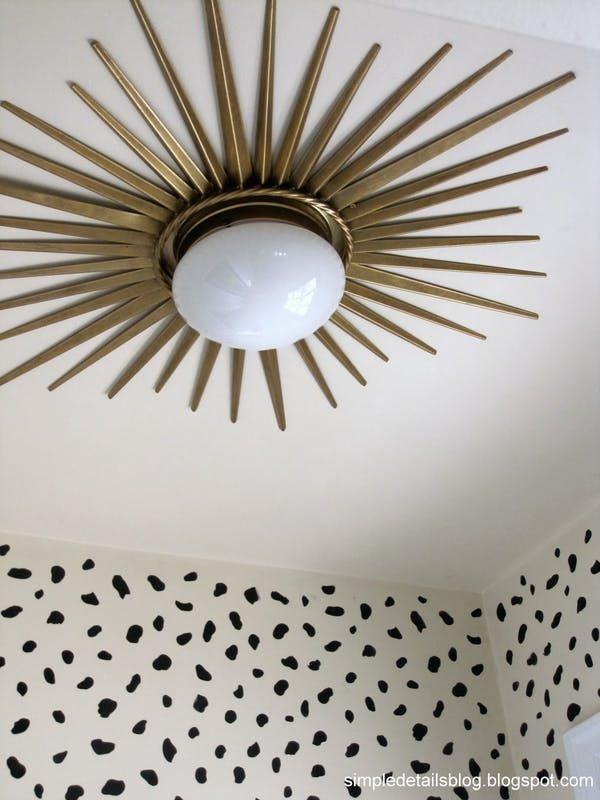 8 DIY Ways to Upgrade Ceiling Lights