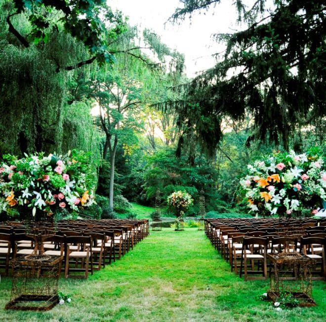Venue 1 Outdoor Wedding Ceremonies Philadelphia Main Line Weddings Leford Evantine Design