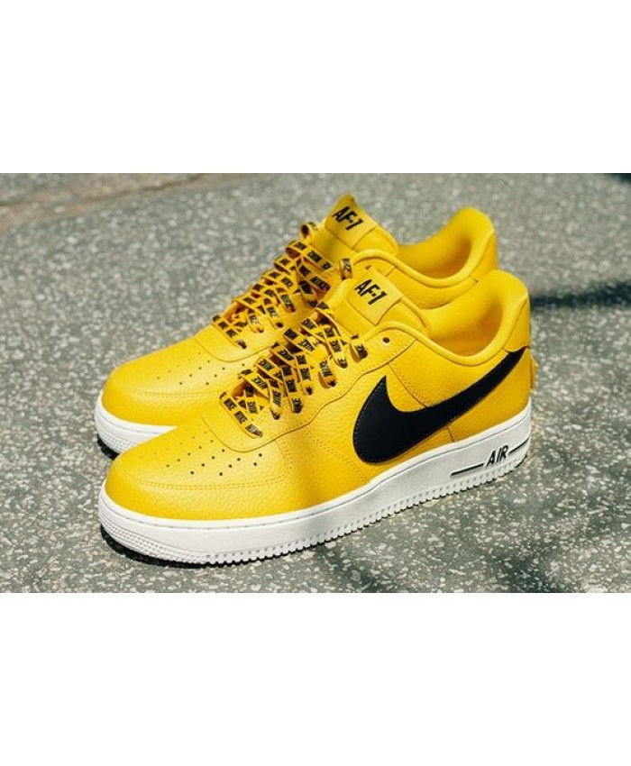 a24140eef0c5 Nike Air Force 1 Low Nba Amarillo Shoes UK Sale