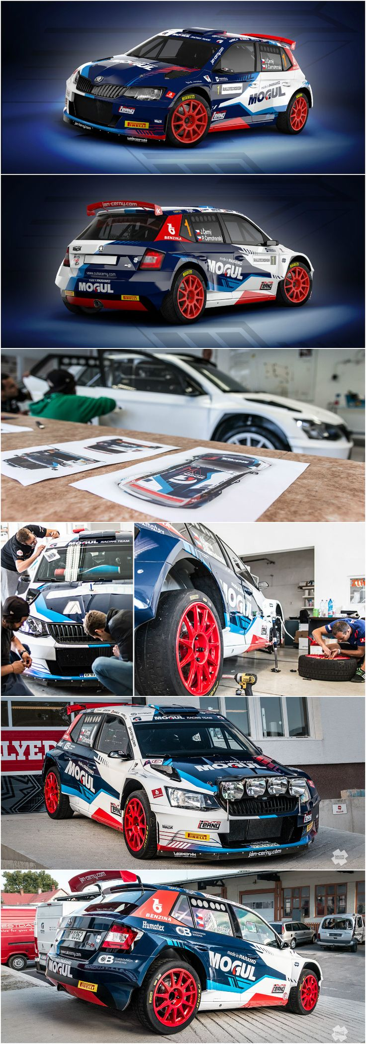 Car decals tribal graphic design zion series - Design For Mogul Racing Team Crew Jan Ern Petr Ernohorsk And Their New Stickerdecalsracing Teamvehicle