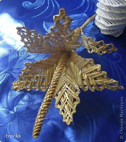 Поделка изделие Плетение Соломенная птичка Соломка фото 5