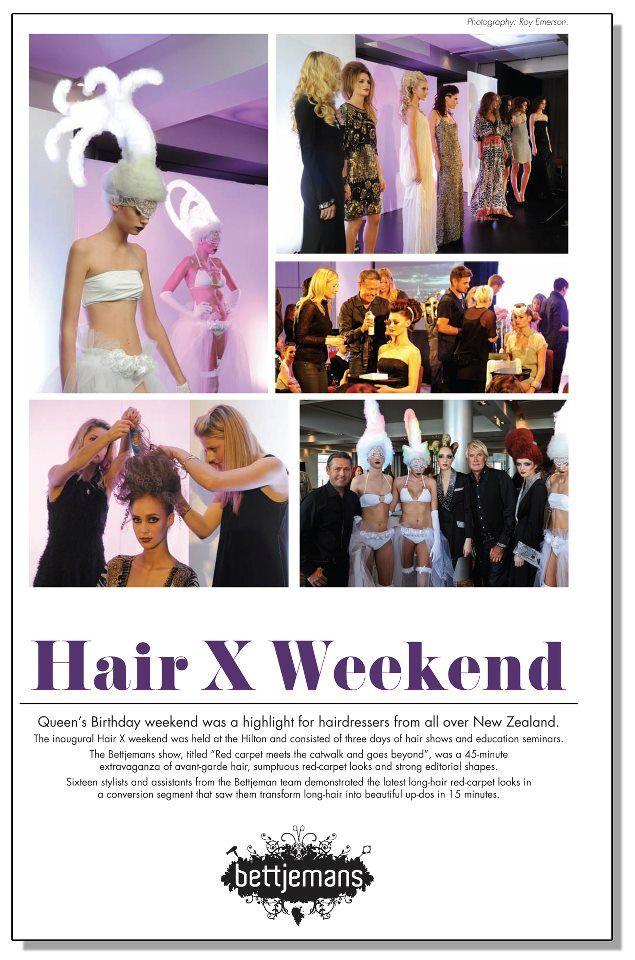 Bettjemans Hair X show - Verve magazine