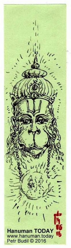 Tuesday, June 14, 2016 http://www.hanuman.today/product/june-14-2016/ Daily drawings of Hanuman / Hanuman TODAY / Connecting with Hanuman through art / Artwork by Petr Budil [Pritam] www.hanuman.today