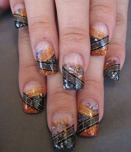 motorcycle nail art