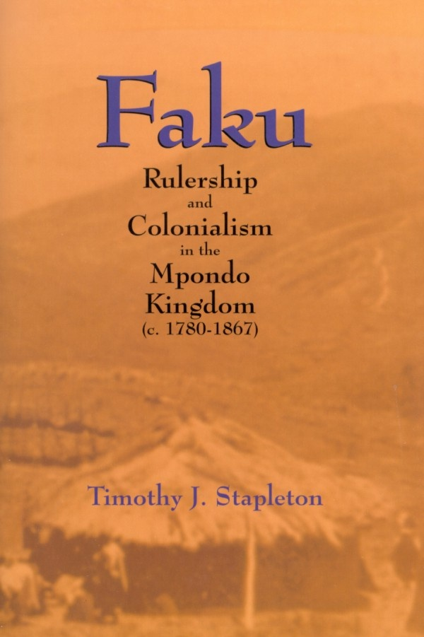 From roughly 1818 to 1867, Faku was ruler of the Mpondo Kingdom located in what is now the north-east section of the Eastern Cape, South Africa. Because of Faku's legacy, the Mpondo Kingdom became the last African state in Southern Africa to fall under colonial rule. Timothy J. Stapleton's narrative and use of oral history paint a clear and remarkable portrait of Faku and how he was able to manipulate missionaries, neighbours, colonists, and circumstances to achieve his objectives.