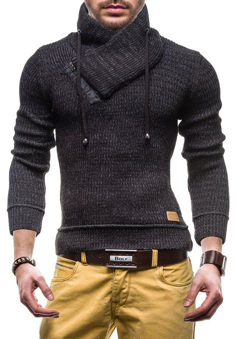BOLF Men's Hoodie Sweater Sweatshirt Sweatjacket Hoodie Jumper 616: Amazon.co.uk: Clothing