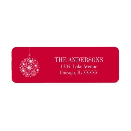 The  Best Christmas Address Labels Ideas On   Print