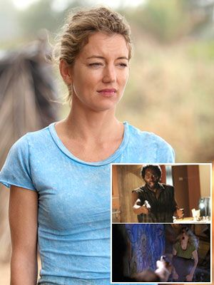 Naked Cynthia Watros in Lost < ANCENSORED