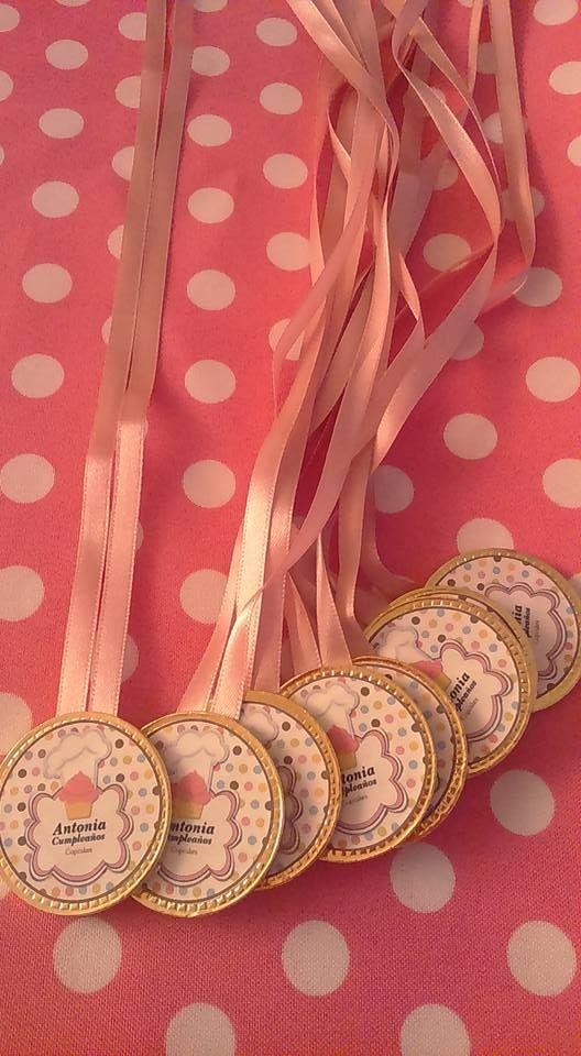 Medallas de Chocolate