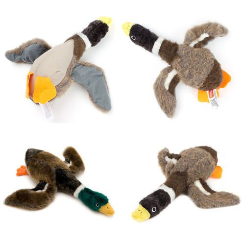 Pet-Dog-Puppy-Stuffed-Squeaking-Toy-Plush-Puppy-Honking-Duck