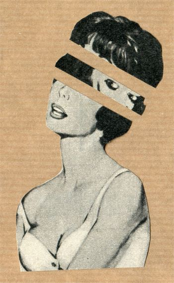Headache (Handmade Collage) by Kieran Sperring