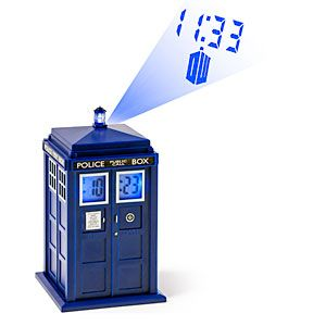 tardis projection alarm clock instructions