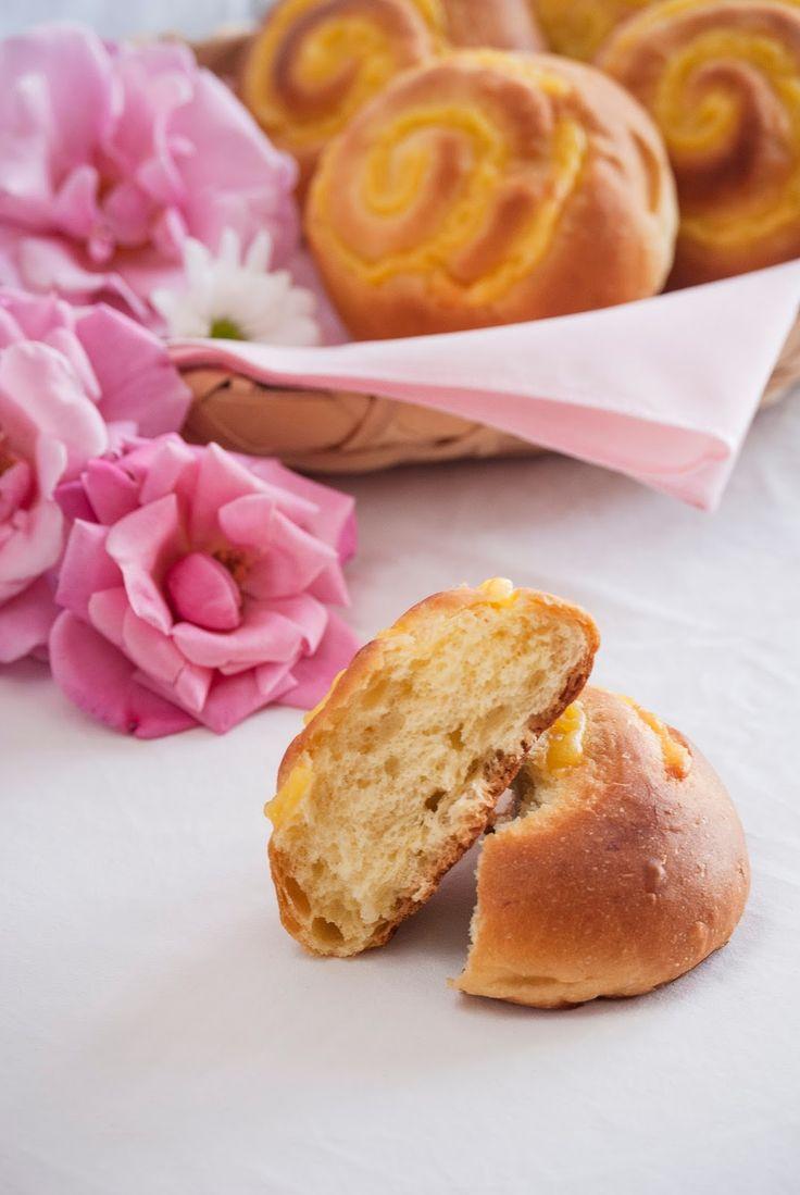 La asaltante de dulces: Receta los de riquísimos Veneziane/ Veneziane recipe. A very soft bun