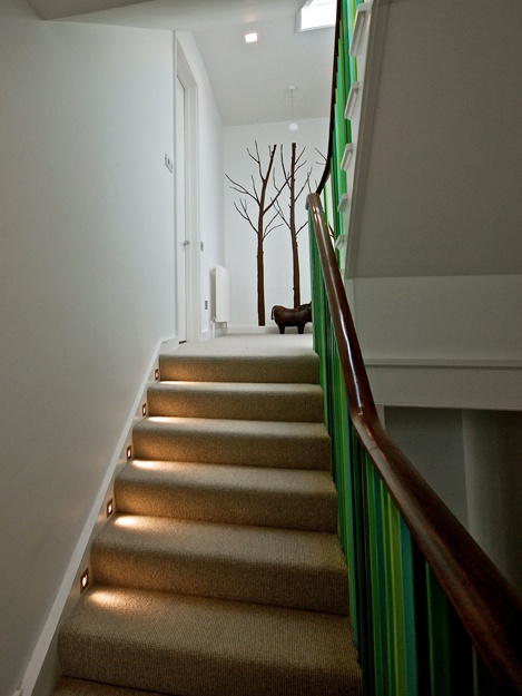 Basement Stair Ceiling Lighting: 72 Best Basement Stairs Images On Pinterest