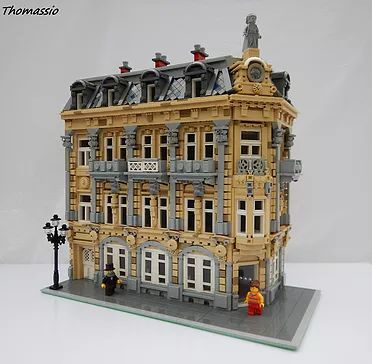 The release of the LEGO modular building series in 2007 prompted enthusiasts to model their own inspired creations. Since the series' inception hundred of user