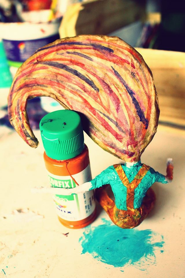 Cabelo colorido :)