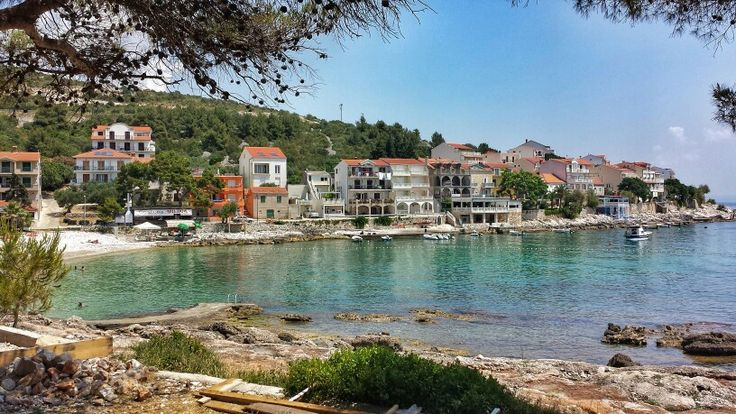 Milna, Hvar, Croatia. Living at the seaside.