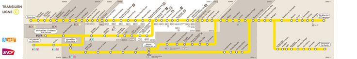 RER C: tout savoir sur votre ligne - Transilien