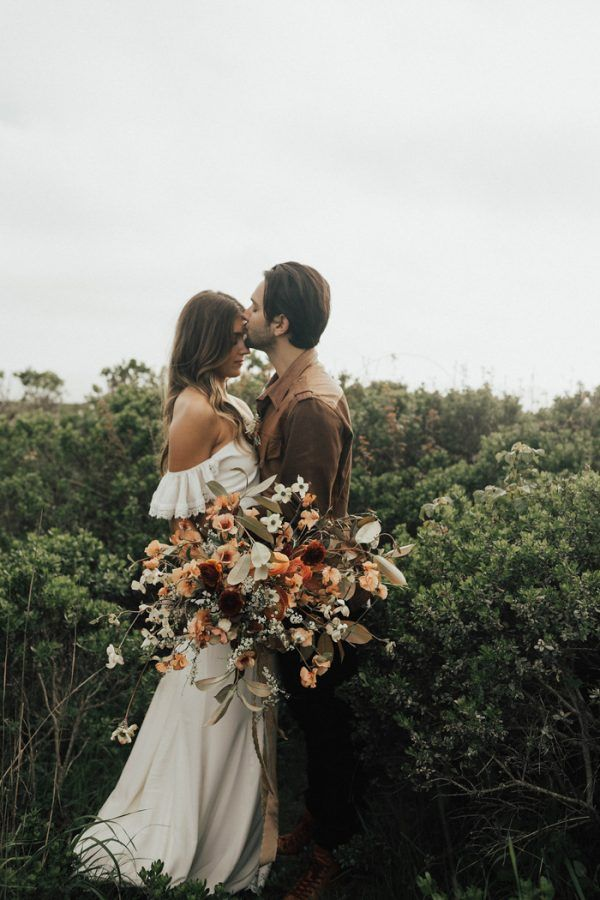 Dreamy Point Reyes Elopement Inspiration with Copper Accents