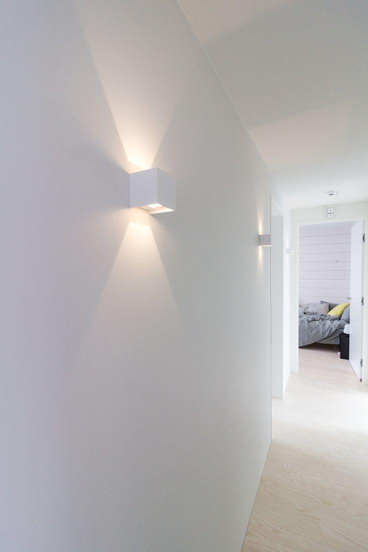 Beautiful wall lighting with Hydra LED-luminaires in Villa Saimaanhelmi!