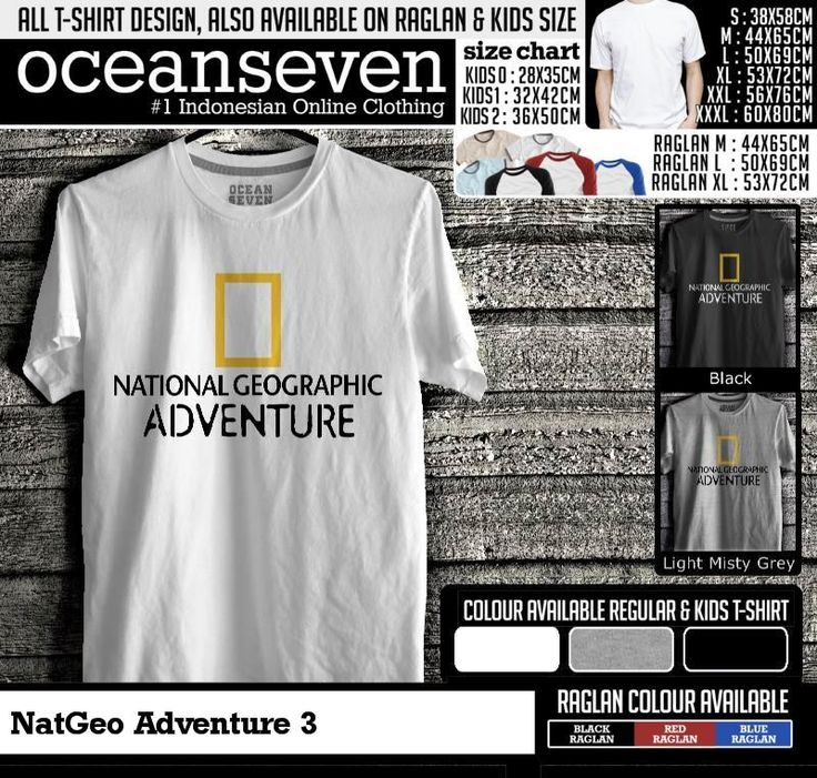 t shirt natgeo adventure 3