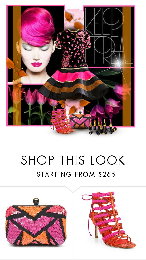 """Fresh"" by noralyn ❤ liked on Polyvore featuring Manish Arora, Nicole Miller, B Brian Atwood, Chanel, women's clothing, women, female, woman, misses and juniors"