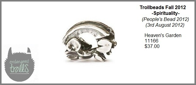 Trollbeads Fall 2012 Spirituality Collection - Heaven's Garden